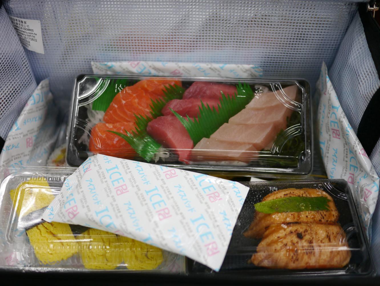 阿裕壽司附保冷劑