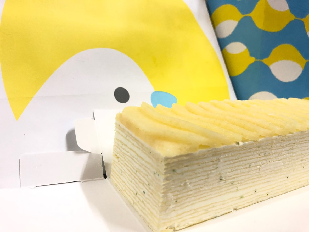 花鳥川生乳檸檬千層 甜點 保冷劑 保鮮劑 保鮮
