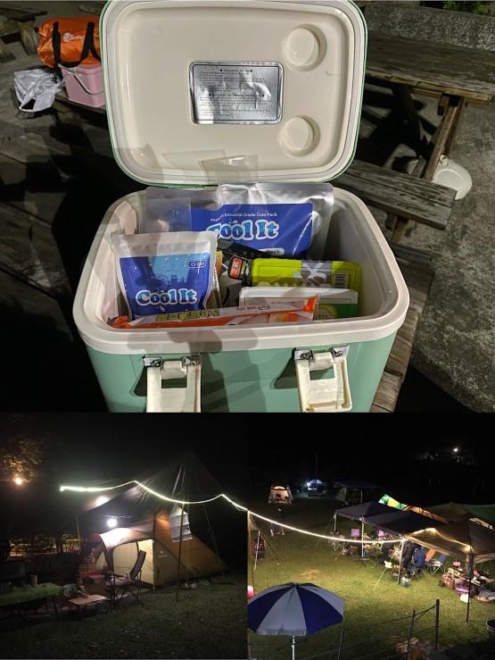 2021瘋露營,食材保鮮小幫手「保冷劑哪裡買?」ft.Cool It Ice Packs for Coolers.