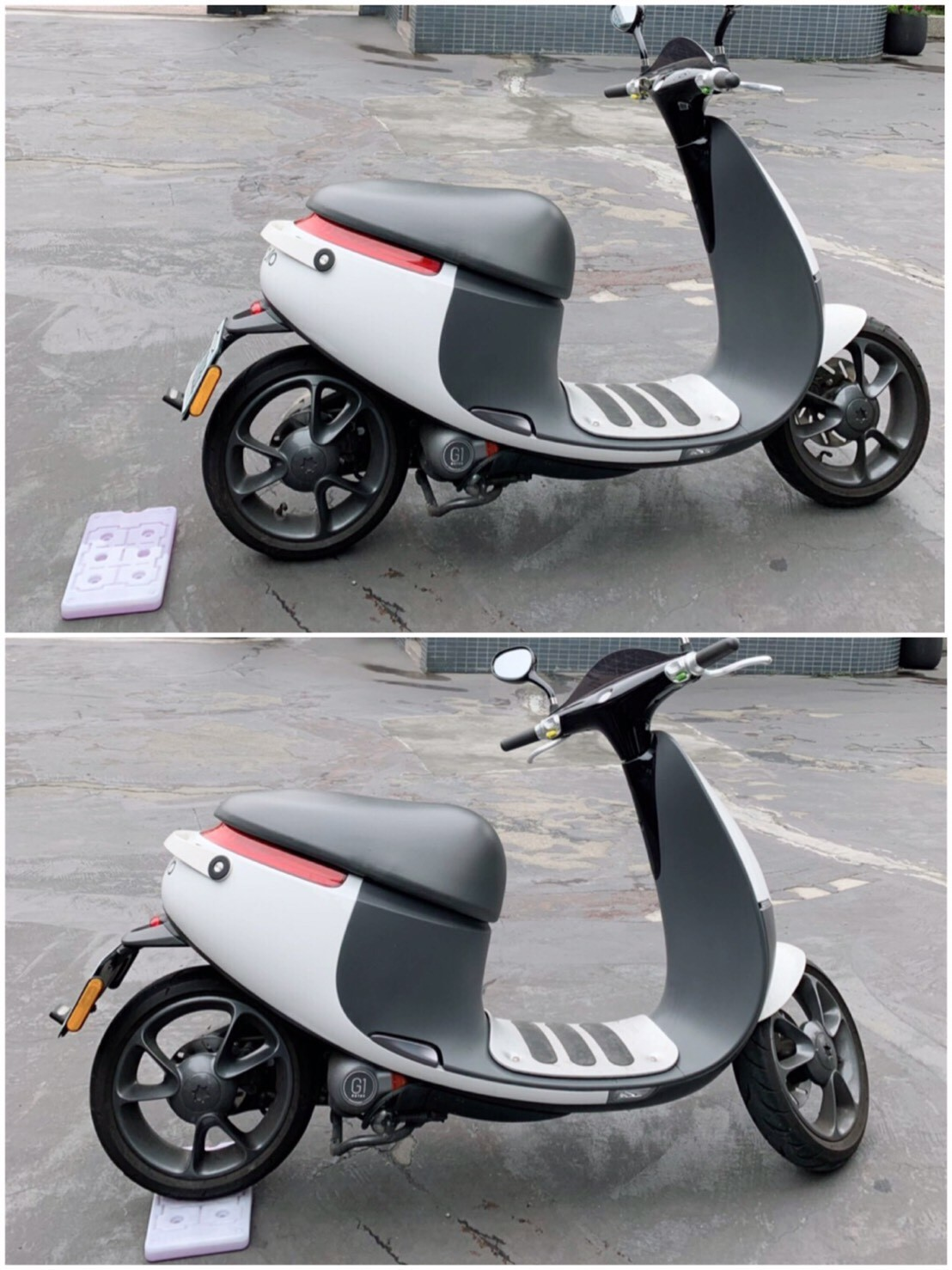 硬殼保冷劑壓力測試-gogoro機車