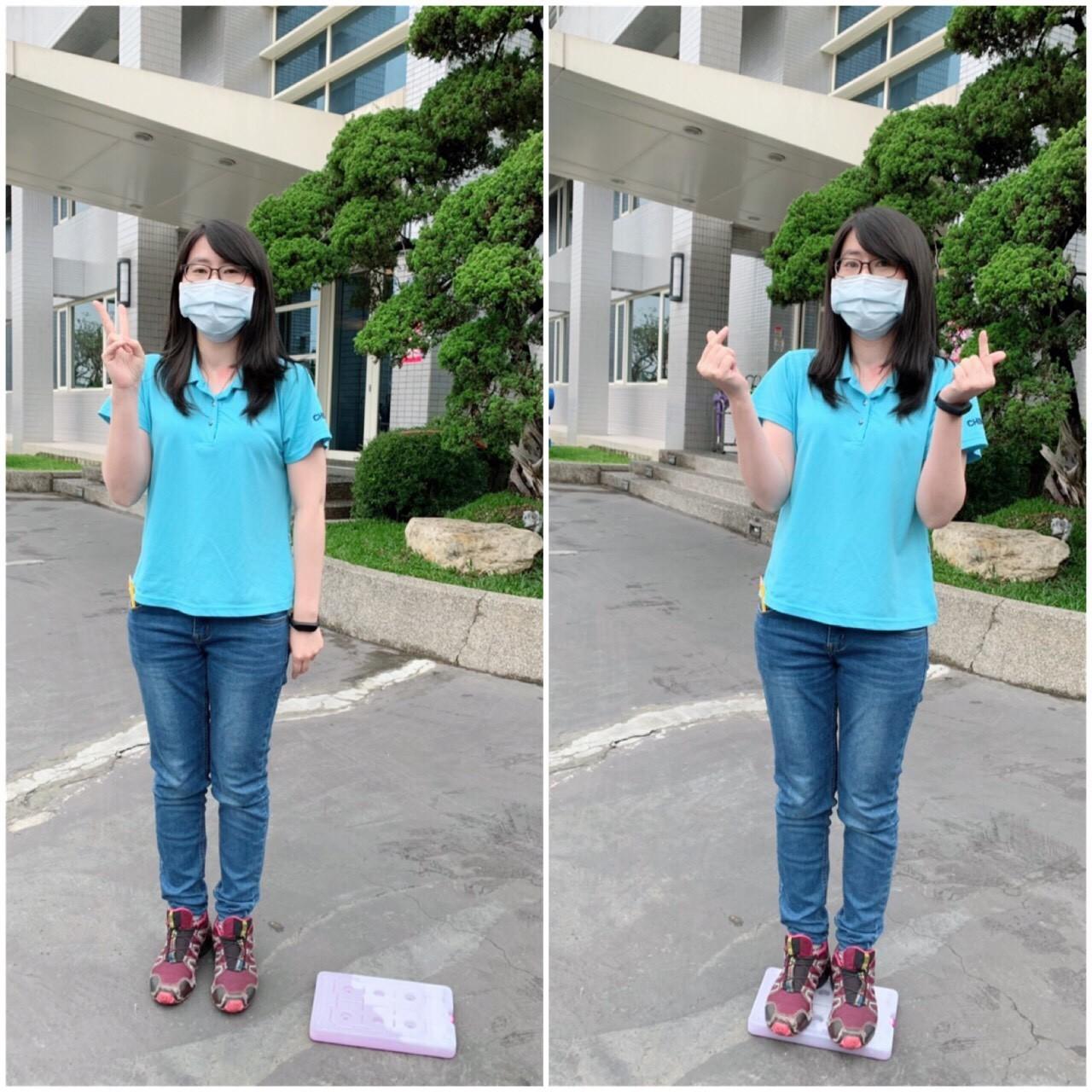 硬殼保冷劑壓力測試-成年女性